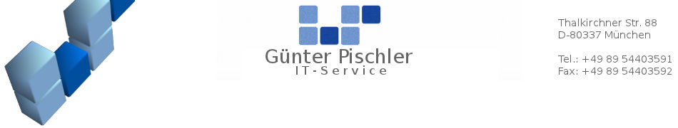 Günter Pischler - IT-Service